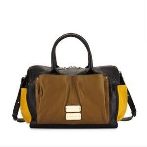 See By Chloe Nellie Colorblock Stachel Bag Black